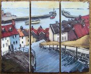 300 Susan Isaac - Whitby Steps and Harbour (2009) Sv108014