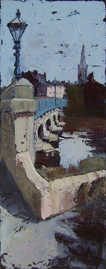 Susan Isaac - The Bridge over the River Trent at Newark