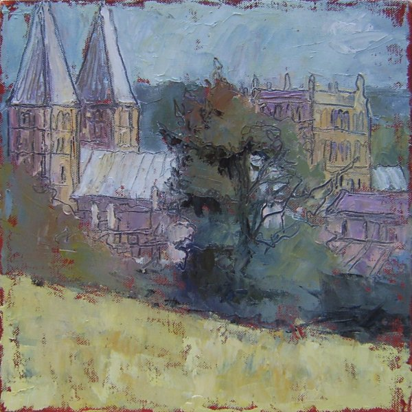 Susan Isaac - Southwell Minster in Summer