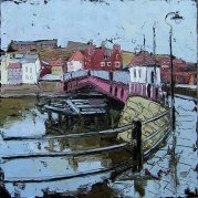 324 Susan Isaac - The Swing Bridge Whitby (2009) Sv108020