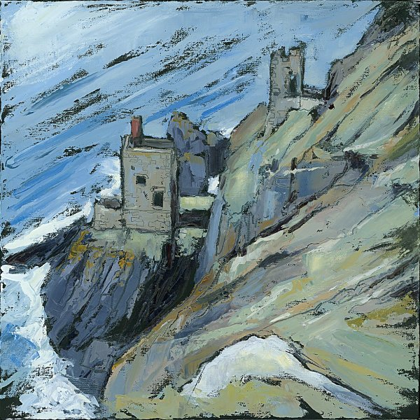 Susan Isaac - The Crowns Engine Houses at Botallack (