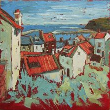 341 Susan Isaac - Staithes and Harbour (2009) Sv103127