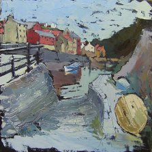 347 Susan Isaac - Slipway on Staithes Beck (2009) Sv103138