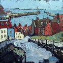 Susan Isaac - Whitby Steps and Harbour (2010)