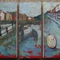 Susan Isaac - Slipway on Staithes Beck (2010)