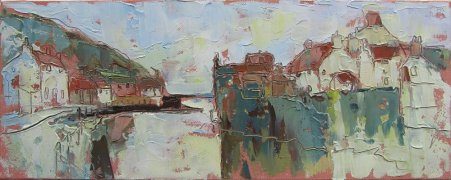Susan Isaac - Mouth of the Beck, Staithes