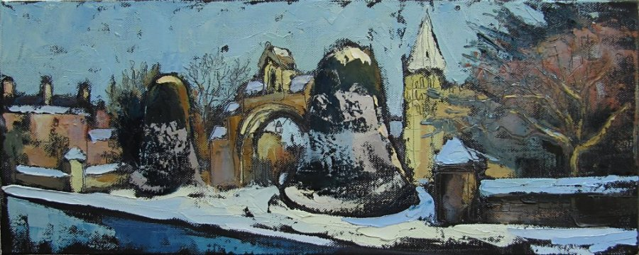 Susan Isaac - The West Gate of Southwell Minster