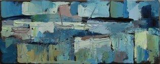 Susan Isaac - Boats at Freshes Creek Stiffkey