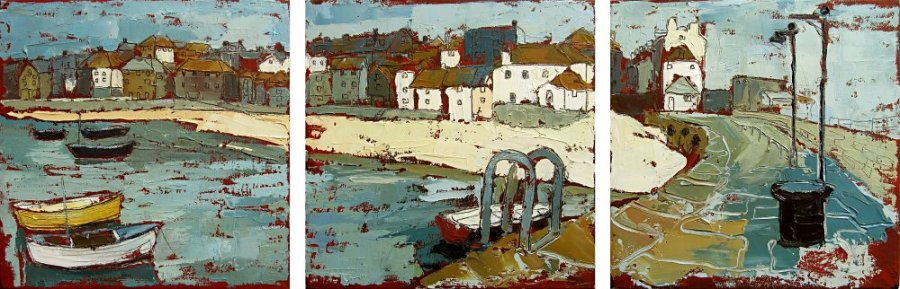 Susan Isaac - The Wharf from Smeatons Pier St Ives