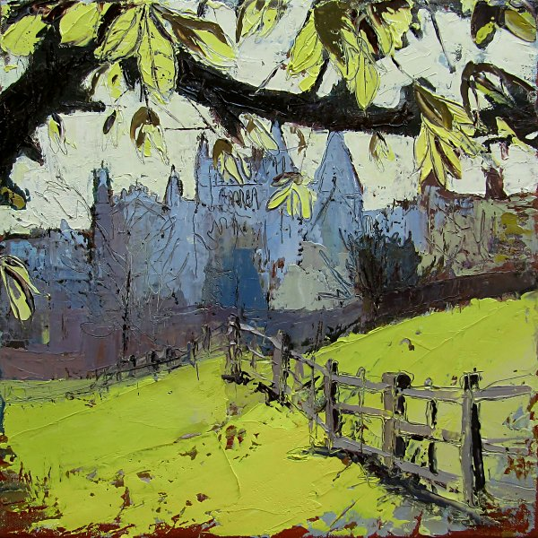 Susan Isaac - Southwell Minster in Spring