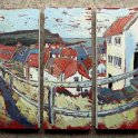 Susan Isaac - Staithes from Broomhill (2010)