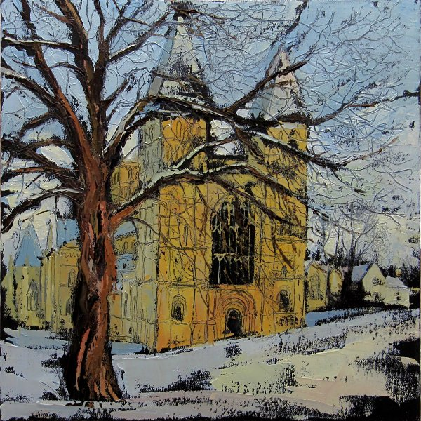 Susan Isaac - Southwell Minster in Winter