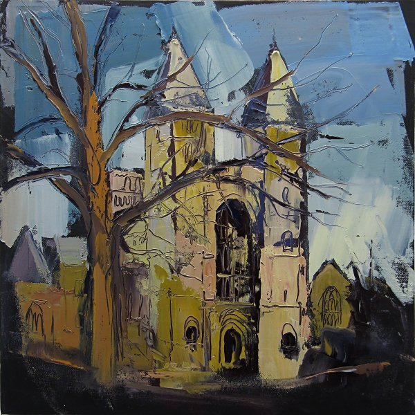 Susan Isaac - The West Front of Southwell Minster