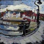Susan Isaac - The Swing Bridge Whitby (2010)