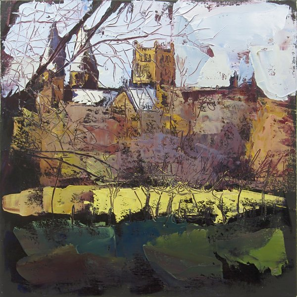 Susan Isaac - Southwell Minster from Hill House Field