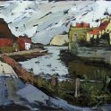Susan Isaac - Mouth of the Beck at Staithes (2011)