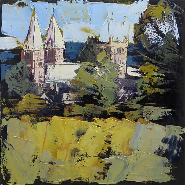 Susan Isaac - Southwell Minster from Crink Lane
