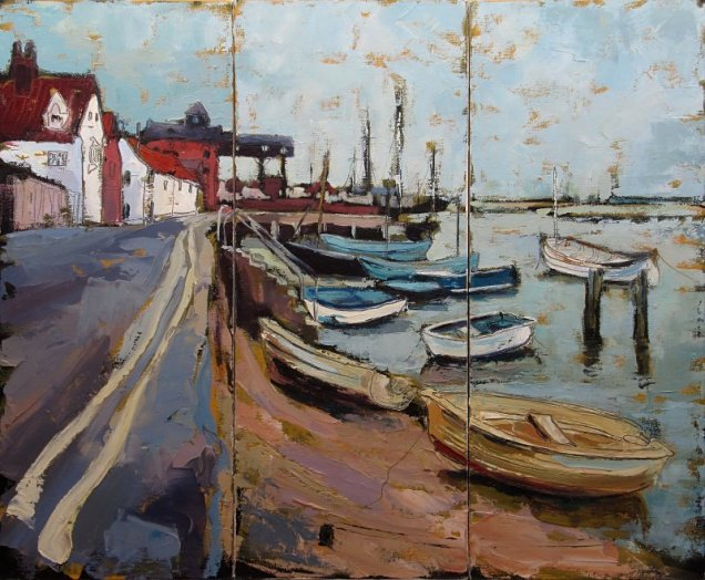 Susan Isaac - The Granary from East End Wells-next-the-Sea
