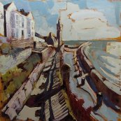 Susan Isaac - Bay View Terrace & The Institute Porthleven