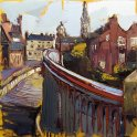 Susan Isaac - Newark from Trent Bridge
