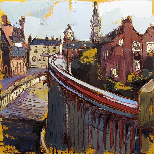 Susan Isaac - Newark from Trent Bridge