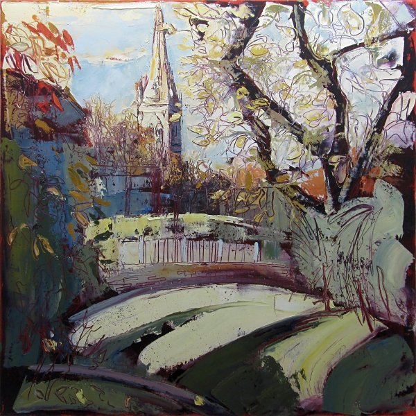 Susan Isaac - Newark from Beaumond Gardens