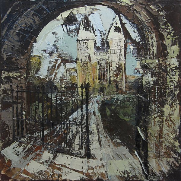 Susan Isaac - Southwell Minster through the West Gate (2012)