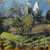 Susan Isaac - Southwell Minster from Hill House Field (2012)