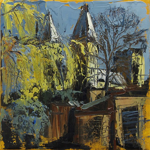 Susan Isaac - Southwell Minster from Trebeck Hall (2012)