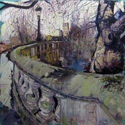 Susan Isaac - Magdalen Bridge Oxford (2012)