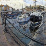 Susan Isaac - Whitby from Endeavour Wharf (2012)