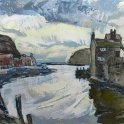 Susan Isaac - Mouth of the Beck Staithes (2012)