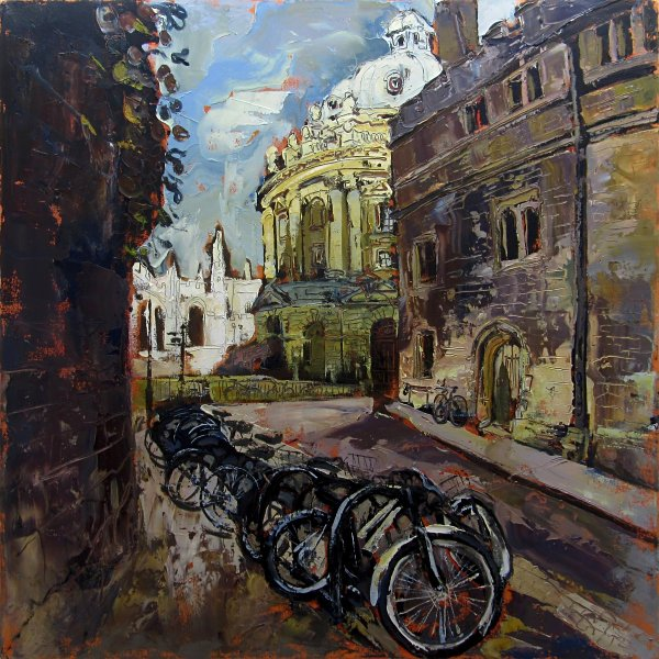 Susan Isaac - Radcliffe Camera from Brasenose Lane Oxford (2013)