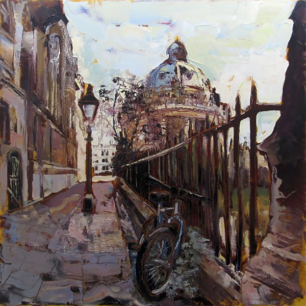 Susan Isaac - The Radcliffe and St Marys Passage Oxford (2013)