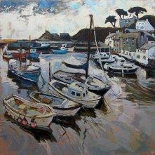 Susan Isaac - Polperro Harbour