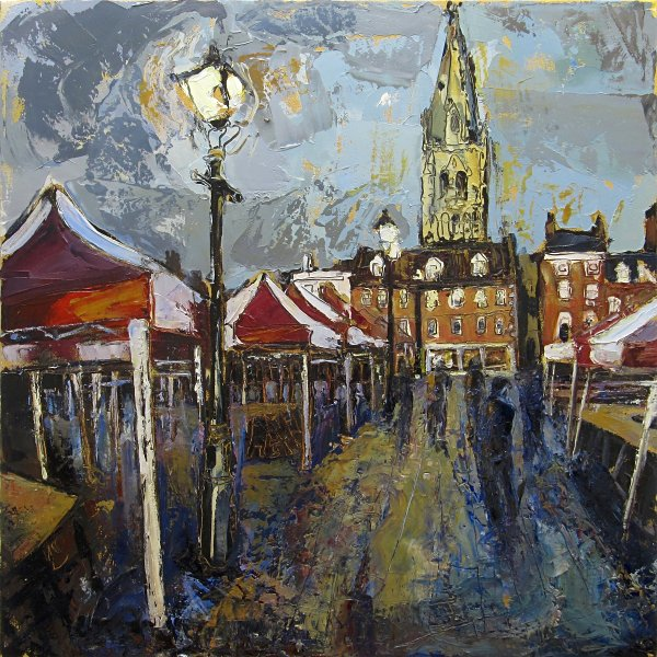 Susan Isaac - Newark Market and St Marys Church