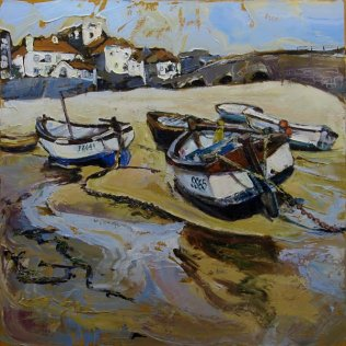 Susan Isaac - Harbour Beach St Ives