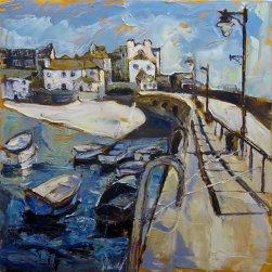 Susan Isaac - Smeatons Pier at St Ives