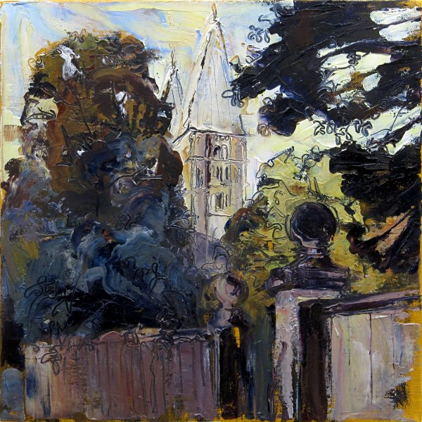 Susan Isaac - Southwell Minster from Bishops Manor