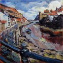 Susan Isaac - The Beck at Staithes (2014)