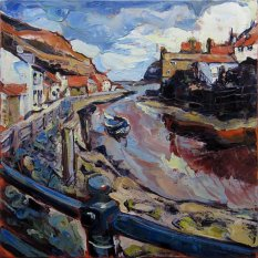 614 Susan Isaac - The Beck at Staithes (2014) IMG_6438