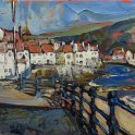 Susan Isaac - Staithes and Cow Bar Nab (2013)