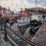 Susan Isaac - Whitby from Endeavour Wharf (2013)