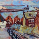Susan Isaac - Whitby from the Steps (2014)