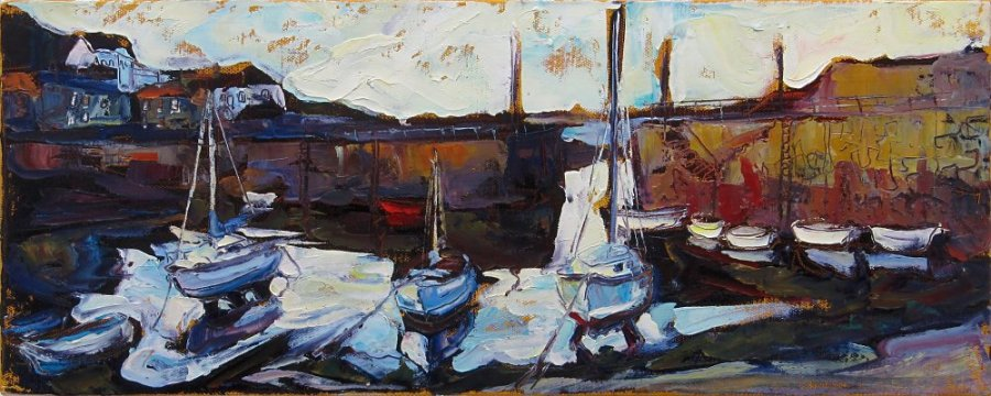 Susan Isaac - Mousehole Harbour