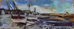 Susan Isaac - Harbour Beach St Ives
