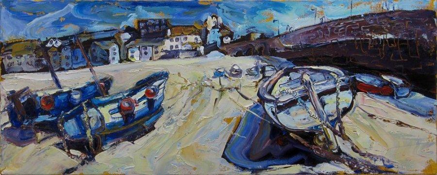 Susan Isaac - Smeaton's Pier & Harbour Beach St Ives