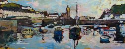 Susan Isaac - Porthleven Harbour