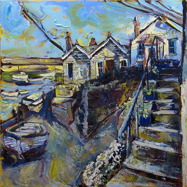 Susan Isaac - The Wharf Mousehole