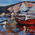 Susan Isaac - The Nab at Staithes (2014)